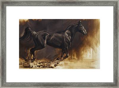 Center Framed Print by JQ Licensing