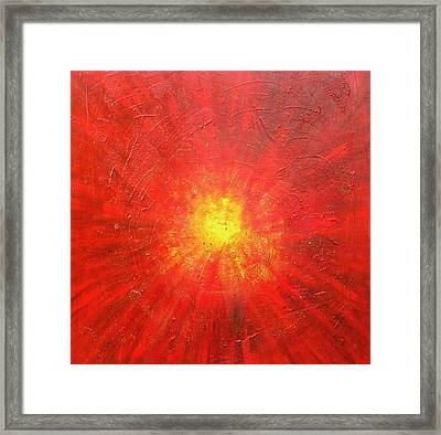 Centered Framed Print