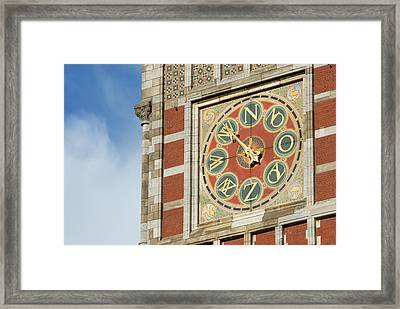 Centraal Station Framed Print by Richard Wareham Fotografie
