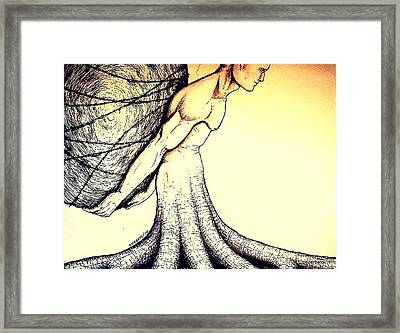 Central Beliefs Of Helplessness Framed Print by Paulo Zerbato