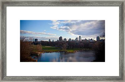 Central Park Framed Print by Steven Gray