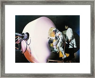 Centrifuge Training For Cosmonauts Framed Print by Ria Novosti