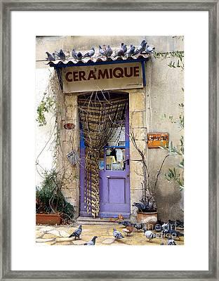Ceramique Framed Print by Lainie Wrightson