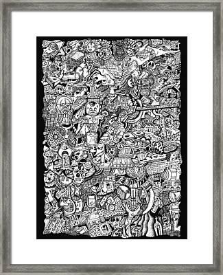 Cerebral Postulation Framed Print