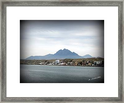 Cerro Campana Framed Print by Mily Iriarte