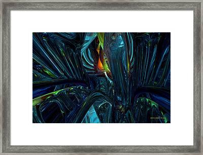 Certain Inner Peace Fx  Framed Print by G Adam Orosco