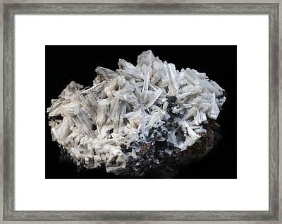 Cerussite Framed Print