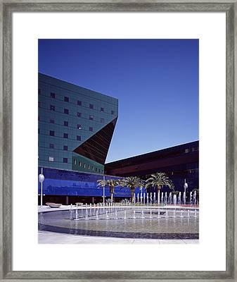 Cesar Pellis Pacific Design Center Framed Print by Everett