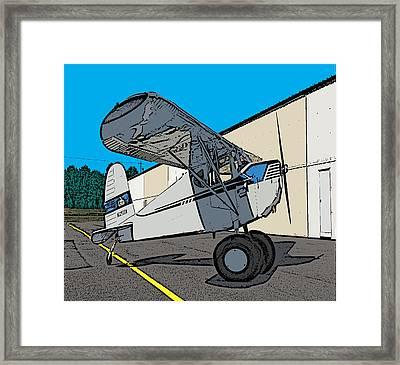 Cessie Framed Print by Steven Richardson