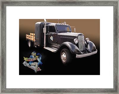 Cfac 36 Dodge Framed Print by Bill Dutting