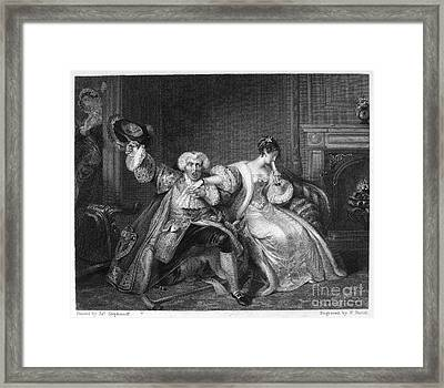 Chacun � Son Gout Framed Print by Granger