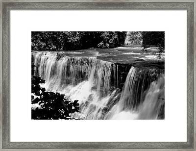 Framed Print featuring the photograph Chagrin Falls by Michelle Joseph-Long
