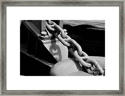 Chain Framed Print by Tanya  Searcy