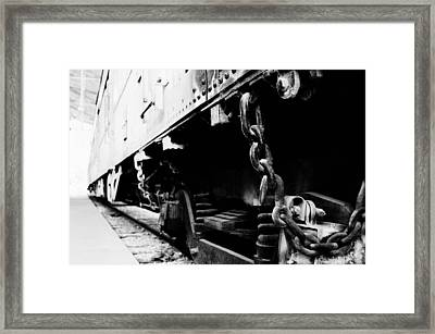 Chained Framed Print by Aron Kearney