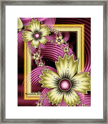 Chained Melody Framed Print