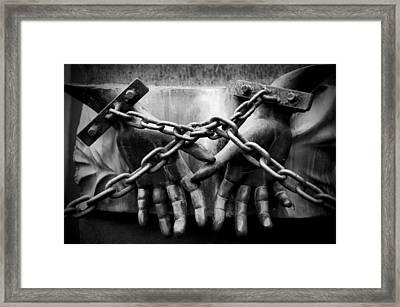 Chains Framed Print by Fabrizio Troiani
