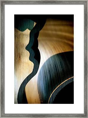 Chair Angles Framed Print
