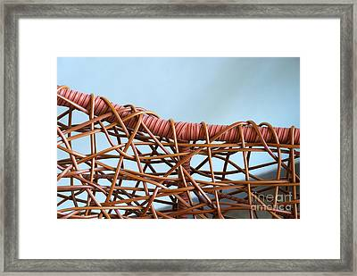 Chair Back Framed Print by Glimpses Prasad Datar-Archana Padhye Photography