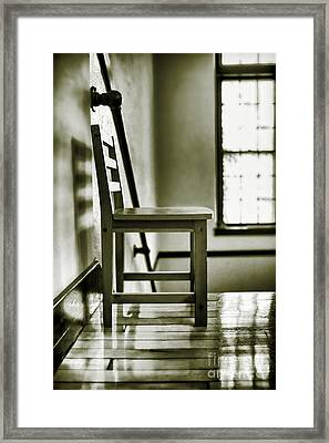 Chair Framed Print by HD Connelly