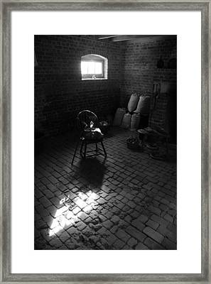 Chair-ished Framed Print