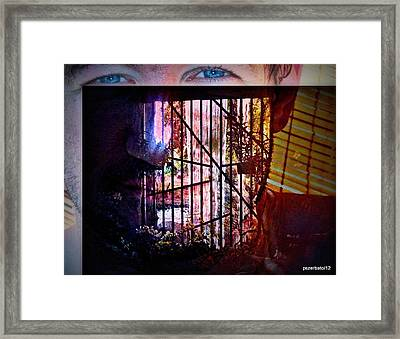 Challenge Enigmatic Imprison Himself Framed Print