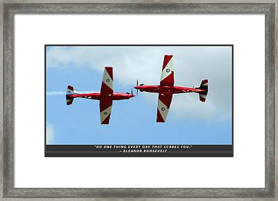 Challenge Yourself Framed Print by Michael Wignall