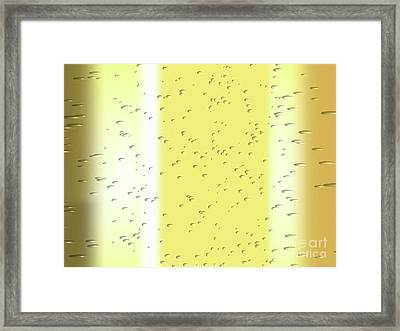 Champagne Framed Print by Pet Serrano