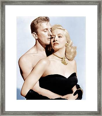 Champion, From Left Kirk Douglas Framed Print