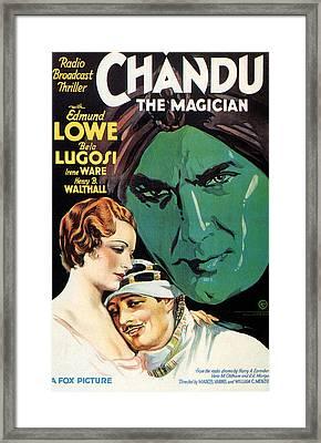 Chandu The Magician, Irene Ware, Edmund Framed Print