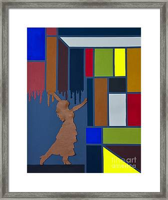 Change Is Unstoppable Framed Print by Robert Wise