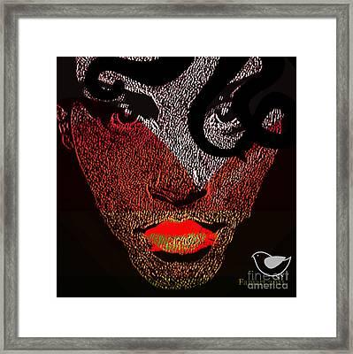 Changeable Woman Framed Print by Fania Simon