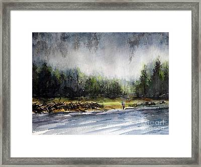 Changing Shift Framed Print