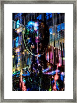 Channeling The Force Framed Print by Chris Lord