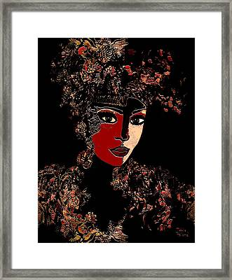 Chantal Framed Print
