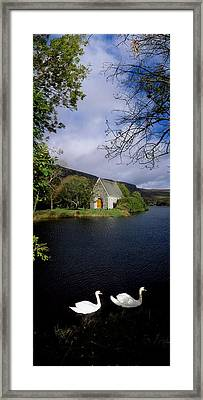 Chapel At Gougane Barra, Co Cork Framed Print by The Irish Image Collection