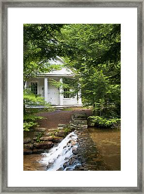 Chapel At Hickory Run State Park Framed Print