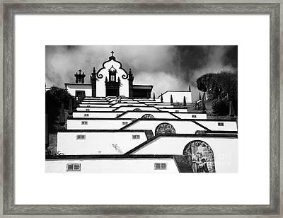 Chapel In Azores Framed Print by Gaspar Avila