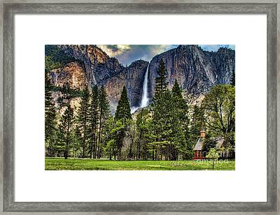 Chapel In The Valley 2 Framed Print