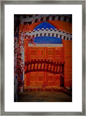 Chapel Of Love Framed Print