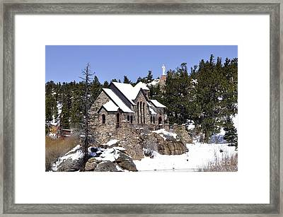 Chapel On The Rocks No. 3 Framed Print