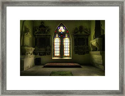 Chapel Room Framed Print by Svetlana Sewell