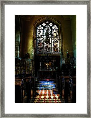 Chapel Framed Print by Svetlana Sewell