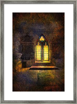 Chapel Window Framed Print by Svetlana Sewell