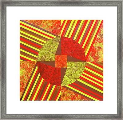 Charkha Framed Print