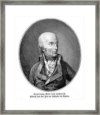 Charles (1771-1847) Framed Print