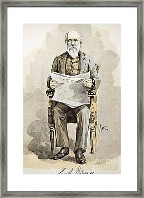 Charles Anderson Dana Framed Print by Granger