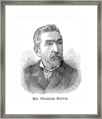 Charles Booth (1840-1916) Framed Print