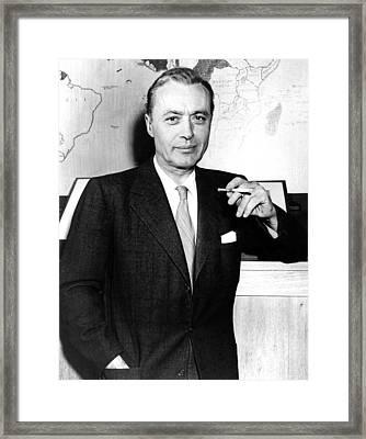 Charles Boyer, 1950s Framed Print