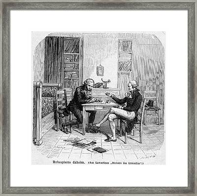 Charles Bradlaugh Framed Print by Granger