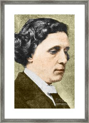 Charles Dodgson Aka Lewis Carroll Framed Print